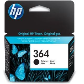 Product image of HP 364 (Black) Ink Cartridge (Yield 250 Pages)