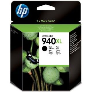 Product image of HP 940XL Black (Yield 2200 Pages) Officejet Ink Cartridge for Officejet Pro 8000, Officejet Pro 8500 All-in-One