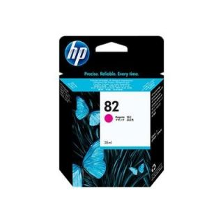 Product image of HP 82 Magenta Ink Cartridge (28-ml)