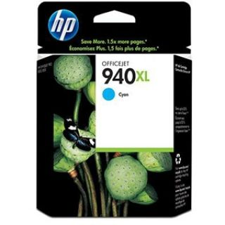 Product image of HP 940XL Cyan (Yield 1400 Pages) Officejet Ink Cartridge for Officejet Pro 8000, Officejet Pro 8500 All-in-One