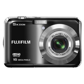 Product image of Fujifilm FinePix AX550 (16MP) Digital Camera 5x Optical Zoom 2.7 inch LCD (Black)