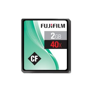 Product image of Fujifilm 2GB 40x Speed 6MB/sec Compact Flash Card
