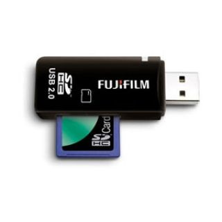 Product image of FUJIFILM - DIGITAL CAMERA ACCS SDHC/SDXC/MICROSD DUAL SLOT CARD READER