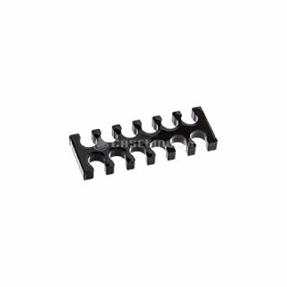 Product image of E22 Black 24 Slot Cable Comb (Large) 4mm