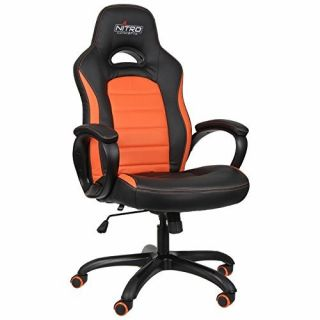 Product image of Nitro Concepts C80 Pure Series Gaming Chair - Black/Orange