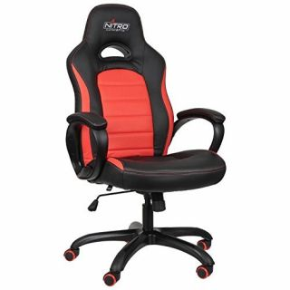Product image of Nitro Concepts C80 Pure Series Gaming Chair - Black/Red