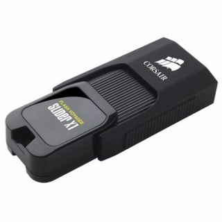 Product image of Corsair Flash Voyager Slider X1 (64GB) USB 3.0 Flash Drive
