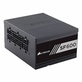 Product image of Corsair SF Series SF600 (600 Watt) High Performance SFX Power Supply Unit (80 PLUS Gold Certified)