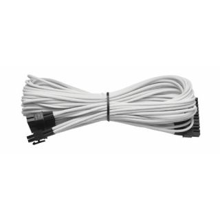 Product image of Corsair Generation 2 Sleeved 24 Pin Cable (AX) - White (CP-8920074)