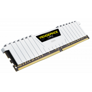 Product image of Corsair Vengeance LPX 16GB (2 x 8GB) Memory Kit PC4-22400 3000MHz DDR4 DIMM C15 (White)