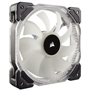 Product image of Corsair HD120 RGB LED High Performance 120mm PWM Fan (Pack of 3) with Controller