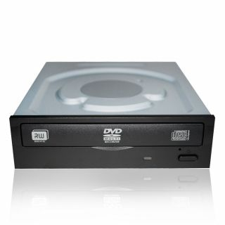 Product image of OEM: LiteOn iHAS124 24X DVD±RW (Dual ±R)/RAM SATA Drive (Internal, Black)