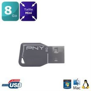Product image of PNY (8GB) Key Attache USB Flash Drive
