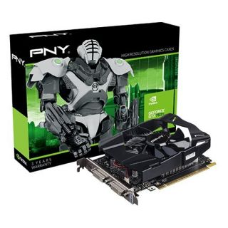 Product image of PNY GF750IGTX2GEPB Graphics Card nVidia GeForce GTX 750 Ti 2GB PCI-E DVI HDMI
