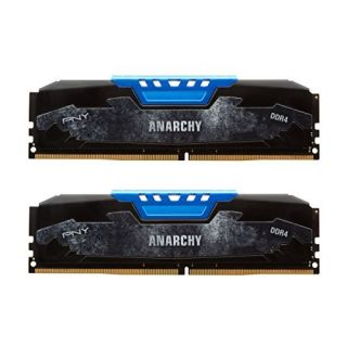 Product image of PNY Anarchy Blue 2x8GB 2400 CL15-15-15 1.2v DDR4*