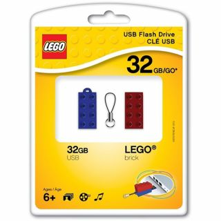 Product image of PNY LEGO (32GB) USB 2.0 Flash Drive