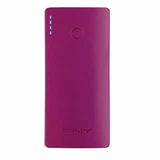 Product image of PNY - CONSUMER VGA PNY POWERPACK CURVE 5200 PURPLE 5200MAH LI-ION 1X USB IN