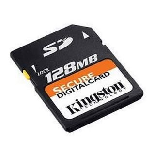 Product image of Kingston (128MB) Secure Digital Memory Card