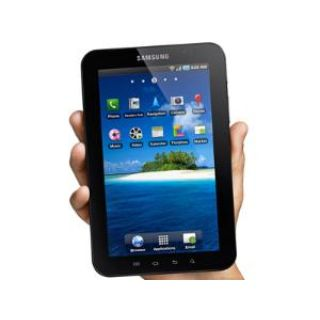 Product image of Samsung Galaxy Tab Tablet PC 1.0GHz 16GB 7 inch Touch 1024 x 600 WLAN BT Android 2.2 Froyo