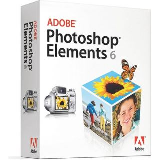 Product image of Adobe Photoshop Elements V6