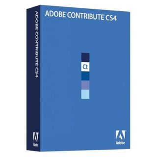 Product image of Adobe Contribute CS4 (Windows)
