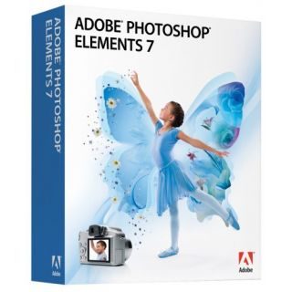 Product image of Adobe Photoshop Elements 7.0 for Windows (Retail)