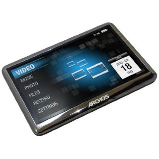 Product image of [Ex-Demo] Archos 43 Vision 8GB MP3 Player (Black) (Opened)
