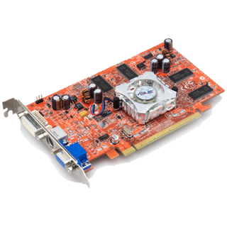 Product image of ASUS Extreme AX600PRO/TD RADEON X600PRO 128MB PCI-E Graphics Card w/DVI