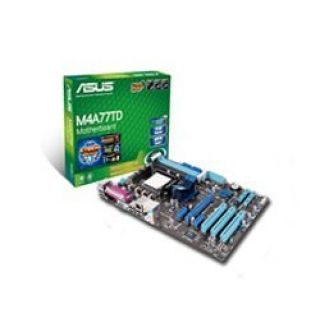 Product image of Asus M4A77TD Motherboard AM3 AMD 770 ATX RAID SATA Gigabit LAN
