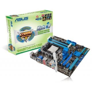 Product image of Asus M4A88TD-M EVO/USB3 Motherboard Socket AM3 AMD 880G mATX RAID SATA Gigabit LAN