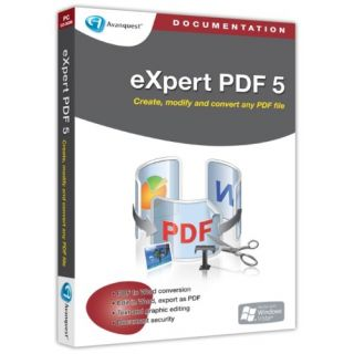 Product image of AVANQUEST/BVRP EXPERT PDF PRO 5 SINGLE USER RETAIL BOX UK