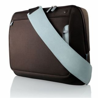 Product image of Belkin Messenger Bag (Chocolate/Tourmaline) for up to 17 inch Notebooks