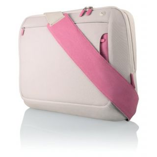 Product image of Belkin Messenger Bag (Dove/Peony) for Notebooks