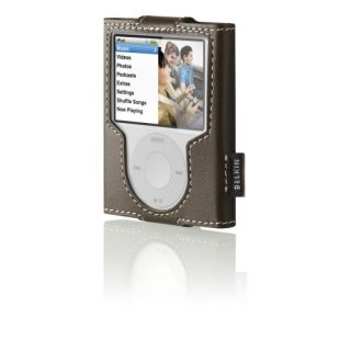 Product image of Belkin Leather Sleeve for iPod nano 3G (Brown)
