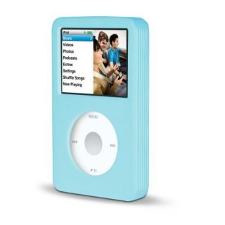 Product image of Belkin Silicone Sleeve 80GB (Blue) for iPod Classic