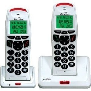 Product image of Binatone BB3200 Twin DECT Cordless Telephone (White)