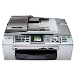Product image of Brother MFC-465CN Colour (A4) All-In-One (Print/Copy/Scan/Fax) Base Model 64MB 6000 x 1200dpi 30ppm (M) 25ppm (C) 100 Sheet (max) ADF