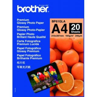 Product image of Brother BP61GLA Innobella A4 Premium Glossy Photo Paper (20 Sheets)