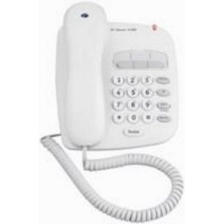 Product image of BT Decor 1100 Corded Phone (Chalk White)