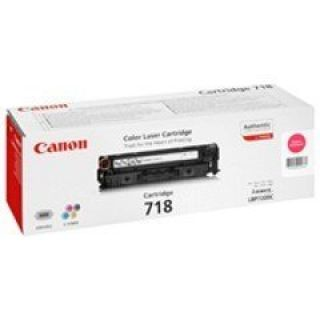 Product image of Canon 718 (Magenta) Toner Cartridge (Yield 2,900 Pages)