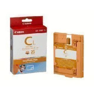 Product image of Canon E-C25L Easy Photo Postcard Ink and Paper Cassette Pack CL Size (5.4 x 8.6cm) Pack of 25 Sheets