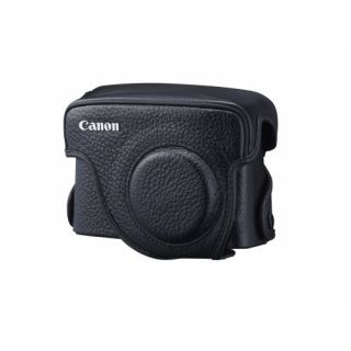 Product image of Canon SC-DC60A Traditional Black Leather Case for PowerShot G10