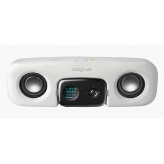 Product image of Creative TravelSound Zen Stone Portable Speaker (White)