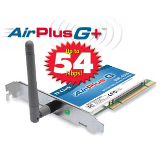 Product image of D-Link DWL-G520 802.11g Wireless LAN PCI Card