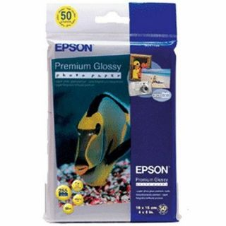 Product image of Epson Premium Glossy Photo Paper 255gsm (10 x 15cm) 1 x Pack of 50 Sheets - Shipper Box