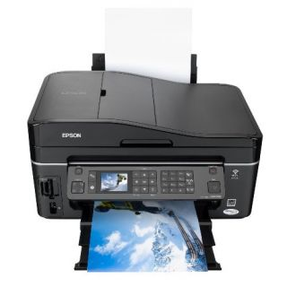 Product image of Epson Stylus SX610FW (A4) All-in-One Colour Inkjet WiFi+Ethernet Printer (Print/Scan/Copy/Fax)