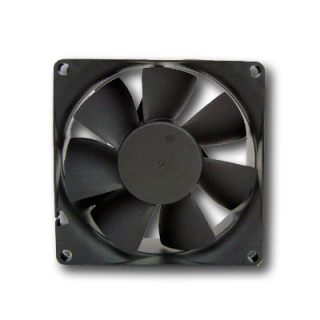 Product image of Generic 80mm Internal Case Cooling Fan 4 Pin (Black)