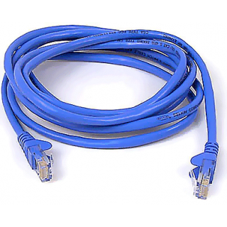 Product image of Cat5e Assembled UTP Patch Cable Blue 3m
