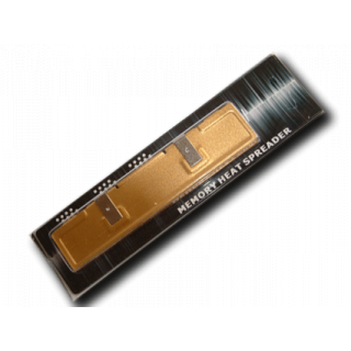 Product image of Memory Module Aluminium Material Heat Spreader (Gold)