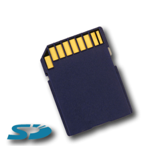 Product image of SD Secure Digital Card 512MB